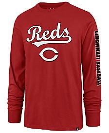 '47 Brand Men's Cincinnati Reds Rival Local Long Sleeve T-Shirt