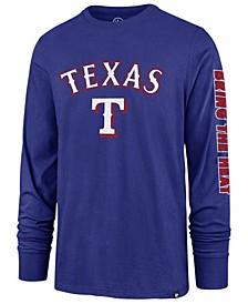 Men's Texas Rangers Rival Local Long Sleeve T-Shirt