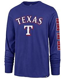 '47 Brand Men's Texas Rangers Rival Local Long Sleeve T-Shirt