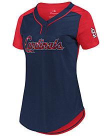 Majestic Women's St. Louis Cardinals League Diva T-Shirt