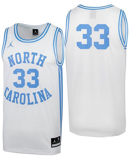 san francisco d7c5a 26e4f Men's North Carolina Tar Heels Replica Basketball Jersey
