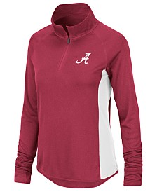 Colosseum Women's Alabama Crimson Tide Albi Quarter-Zip Pullover
