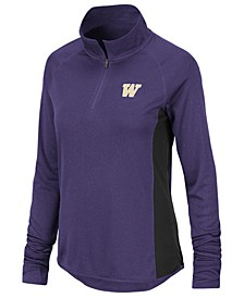 Women's Washington Huskies Albi Quarter-Zip Pullover