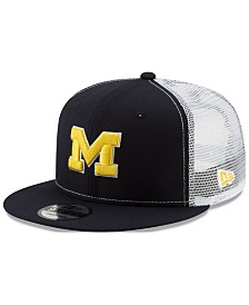 New Era Michigan Wolverines TC Meshback Snapback Cap