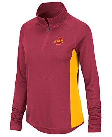 Colosseum Women's Iowa State Cyclones Albi Quarter-Zip Pullover