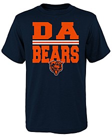 Big Boys Chicago Bears Da Bears T-Shirt