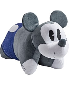 Pillow Pets Disney Denim Mickey Mouse Stuffed Animal Plush Toy