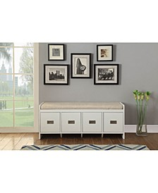 Berci Bench with Storage