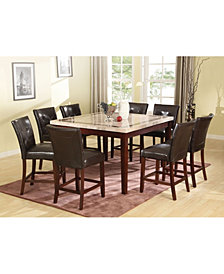 Danville Counter Height Chair (Set of 2)