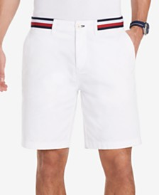 """Tommy Hilfiger Men's 9"""" Stripe Shorts, Created for Macy's"""