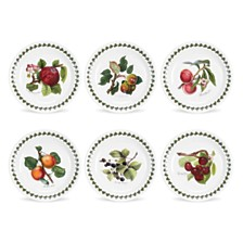Portmeirion Pomona Bread & Butter Plate Assorted Set/6