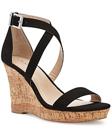 CHARLES by Charles David Launch Platform Wedge Sandals