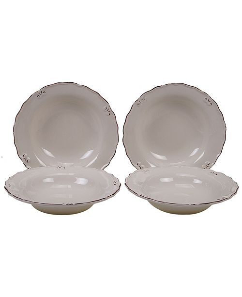 Certified International Vintage Cream 4-Pc. Soup Bowl