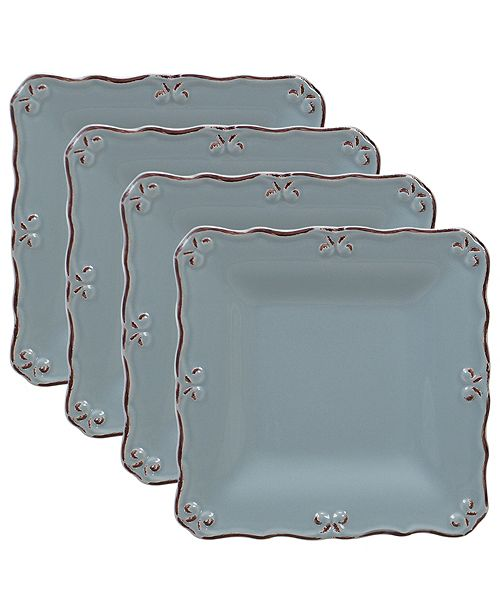 Certified International Vintage Blue 6-Pc. Canape Plate