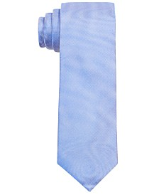 Lauren Ralph Lauren Big Boys Blue Solid Silk Tie