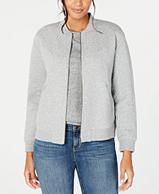 Eileen Fisher Flight Jacket, Regular & Petite