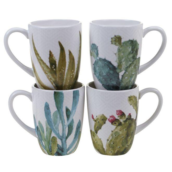 Certified International Cactus Verde 4-Pc. Mug