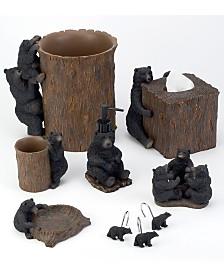 Avanti Black Bear Bath Accessory Collection