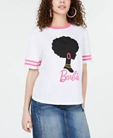 Love Tribe Juniors' Barbie Silhouette T-Shirt