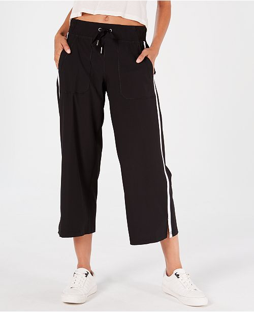 98a20e969433e Calvin Klein Striped Wide-Leg Capri Pants & Reviews - Pants & Capris ...