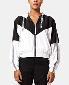 ARTISTIX Sierra Printed Hooded Windbreaker