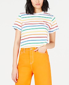 Dickies Cropped Striped T-Shirt