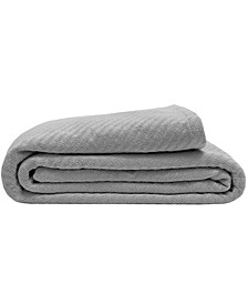Textured Organic Cotton Full/Queen Blanket