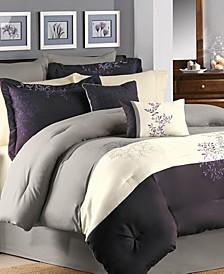 Murell 7 Pc Queen Comforter Set