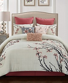 Penny 10 Pc King Comforter Set