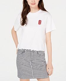 Juniors' Cotton Coca-Cola Graphic T-Shirt