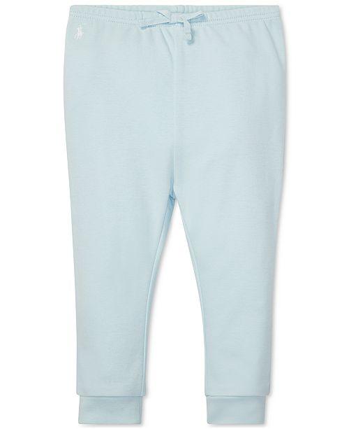 Polo Ralph Lauren Baby Boys Cotton Interlock Pull-On Pants