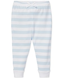 Polo Ralph Lauren Baby Boys Striped Cotton Pull-On Pants
