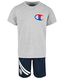 Champion Toddler Boys 2-Pc. Logo-Print T-Shirt & Shorts Set