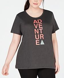 Plus Size Word Block T-Shirt