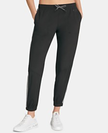 DKNY Sport Striped Joggers, Created for Macy's
