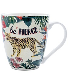 Pfaltzgraff Be Fierce Cheetah Mug