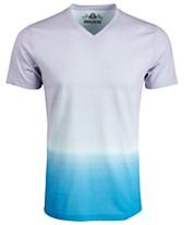 b39534cb686 American Rag Men s Double Dip-Dyed V-Neck T-Shirt