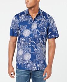 DKNY Men's Regular-Fit Printed Shirt
