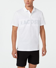Lacoste Men's Sport Mesh Logo Polo Shirt