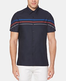 Perry Ellis Men's Stripe Shirt