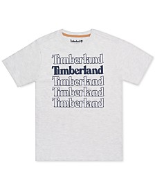 Timberland Big Boys Colebrook Logo T-Shirt