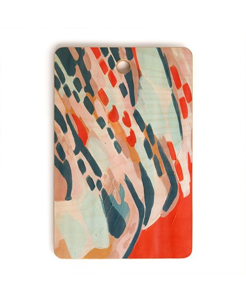 Deny Designs Onwards and Upwards Rectangle Cutting Board