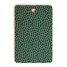 Mosaic Scallop Marine Rectangle Cutting Board