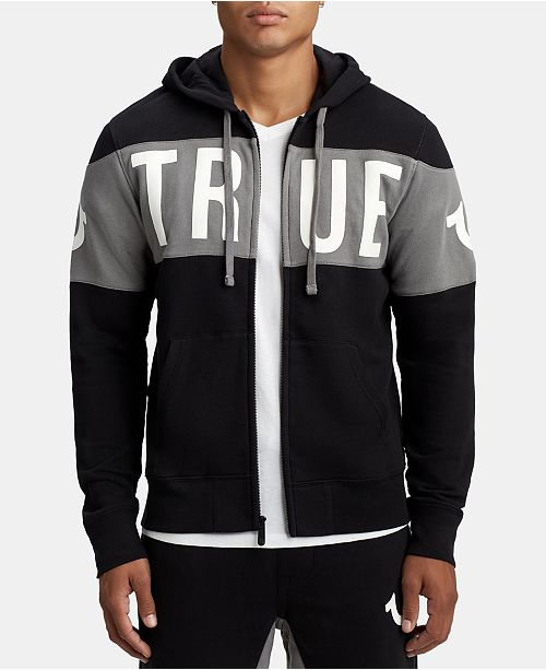 True Religion Men's Logo Graphic Hoodie
