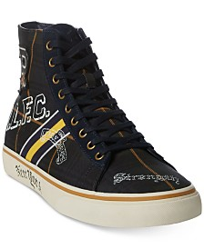 Polo Ralph Lauren Men's Solomon Tartan Sneakers