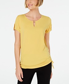 JM Collection O-Ring Keyhole Top, Created for Macy's