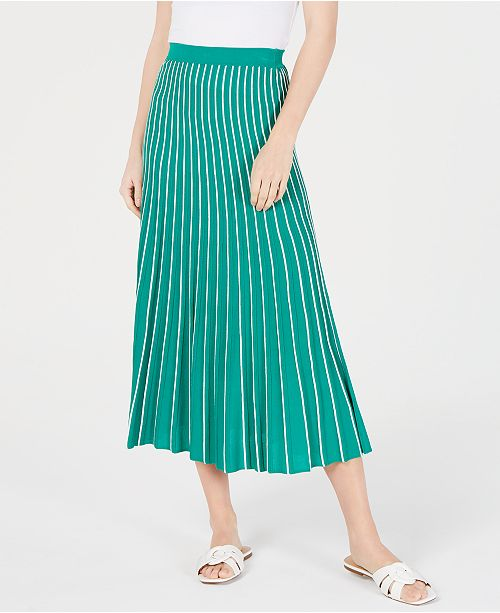 ASTR the Label Yuri Pleated Midi Skirt