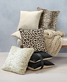CLOSEOUT!  Animal Print Decorative Pillow and Throw Collection