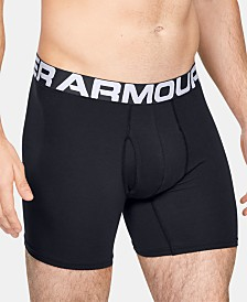 Under Armour Men's 2-Pk. Charged Cotton® Boxer Briefs