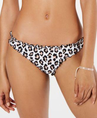 Juniors' Printed Cheeky Bikini Bottoms, Created for Macy's